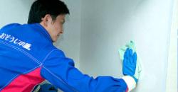 壁面、窓ガラス(ガラスがある場合)をお掃除します。