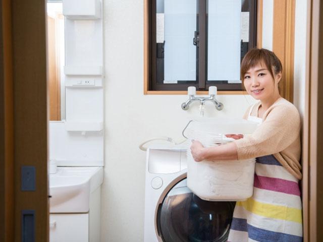 洗濯機まわり