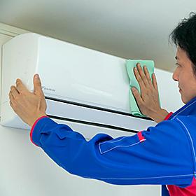 エアコンクリーニング壁掛け