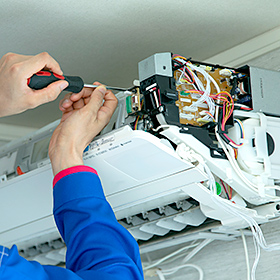 エアコンクリーニング壁掛け お掃除機能付き